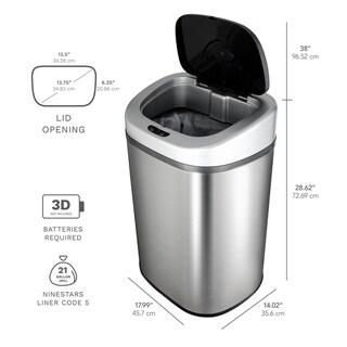 Buy Kitchen Trash Cans Online At Overstock | Our Best Kitchen Storage Deals