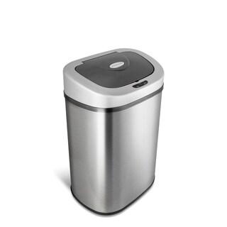 Nine Stars 21.1-gallon Motion Sensor Stainless Steel Trashcan