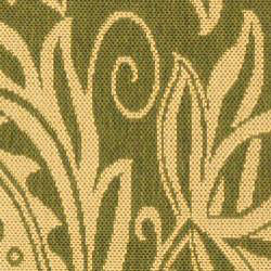Safavieh Andros Olive Green/ Natural Indoor/ Outdoor Runner (2'4 x 9'11) - Thumbnail 2