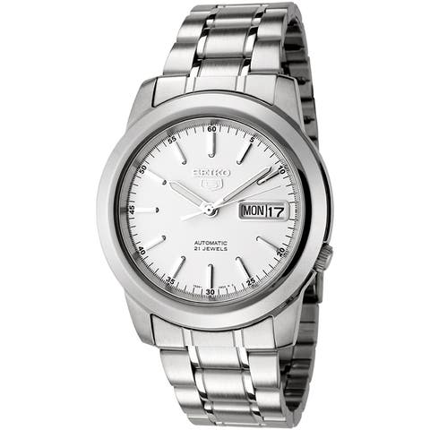 Seiko Men's Automatic Stainless Steel Watch