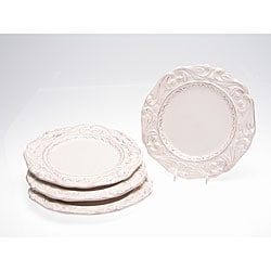 Certified International Firenze Ivory 9.5-inch Salad Plate (Set of 4)