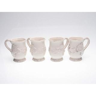 Certified International Firenze Ivory 16-oz Mugs (Set of 4)