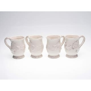 Certified International Firenze Ivory 16-oz Mugs (Set of 4)|https://ak1.ostkcdn.com/images/products/4768543/P12670573.jpg?impolicy=medium