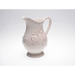 Certified International Firenze Ivory 3-quart Pitcher