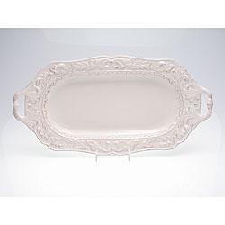 Certified International Firenze Ivory Handle Fish Platter