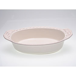 Certified International Firenze Ivory 4-quart Oval Baking Dish