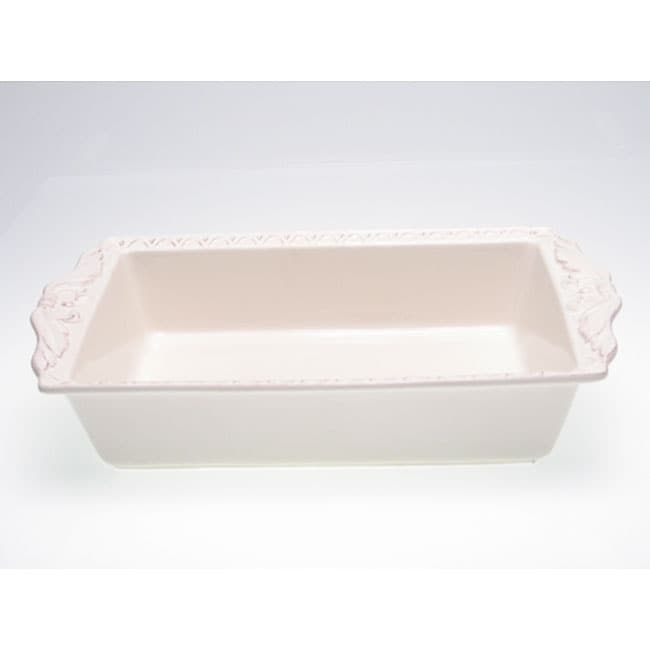 Certified International Firenze Ivory 5-quart Rectangular Baker