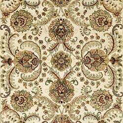 Safavieh Handmade Babol Ivory Wool Rug (7'6 x 9'6) - Thumbnail 2