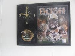 Reggie Bush Collectible Photo Clock - Thumbnail 1