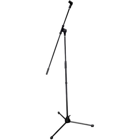 Pyle PMKS3 Tripod Microphone Stand with Extending Boom