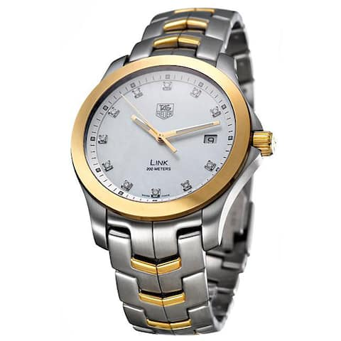 Tag Heuer Men's WJF1153.BB0579 'Link' Two-Tone Stainless Steel Watch