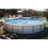 GLI Above Ground Pool Fence Add-On Kit C (2 Sections) - White