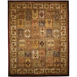 Safavieh Handmade Classic Bakhtieri Multicolored Wool Rug (6' Square)