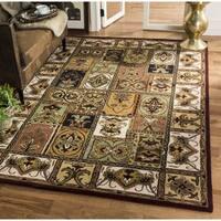 Safavieh Handmade Classic Bakhtieri Multicolored Wool Rug (8' Square) - 8' Square