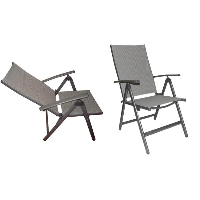 Tremendous Deluxe Reclining High Back Patio Chairs Set Of 2 Short Links Chair Design For Home Short Linksinfo