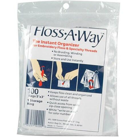 Floss-A-Way 3 x5 Organizer (Pack of 100)