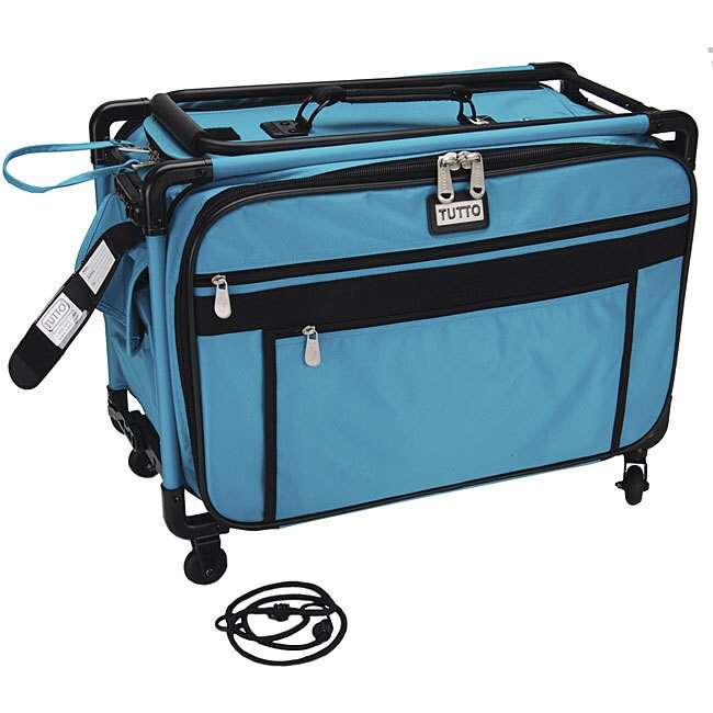 TUTTO Machine on Wheels Turquoise Case (Tutto Machine On ...