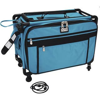 TUTTO Machine on Wheels Turquoise Case|https://ak1.ostkcdn.com/images/products/4772231/P12673691.jpg?impolicy=medium