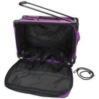 Tutto Machine On Wheels Purple Sewing Machine Case