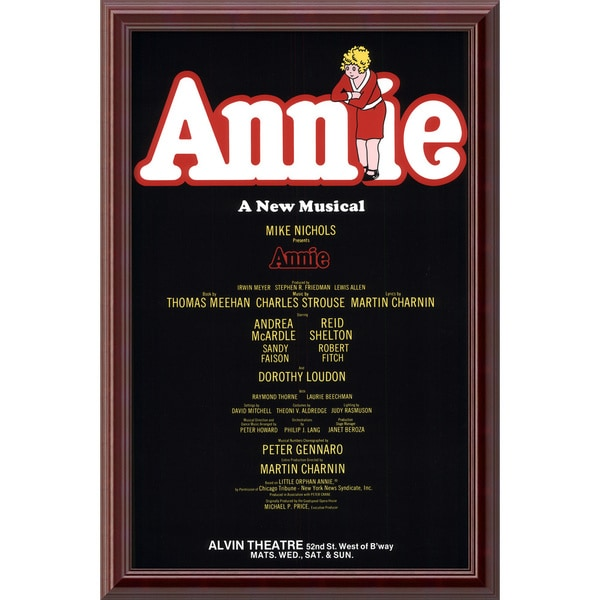 'Annie (Original)' Framed Art Print