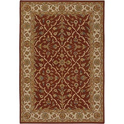 Artist's Loom Hand-knotted Traditional Oriental Wool Rug - 7'9x10'6 - Thumbnail 0