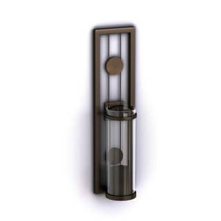 Contemporary 2-piece Metal Candle Sconce Set