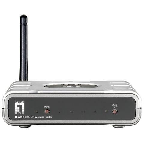 LevelOne WBR-6002 150Mbps Wireless N Router