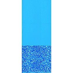 Swimline Swirl Bottom 12-ft x 24-ft Oval Overlap Pool Liner 48/52-in Deep - Thumbnail 0