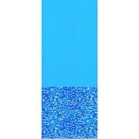Swimline Swirl Bottom 21-ft Round Overlap Pool Liner 48/52-in Deep