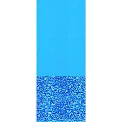 Swimline Swirl Bottom 12-ft x 17-ft Oval Overlap Pool Liner 48/52-in Deep - Thumbnail 0