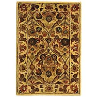 Safavieh Handmade Treasured Gold Wool Rug - 2' x 3'