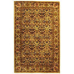 Safavieh Handmade Treasured Gold Wool Rug (5' x 8')