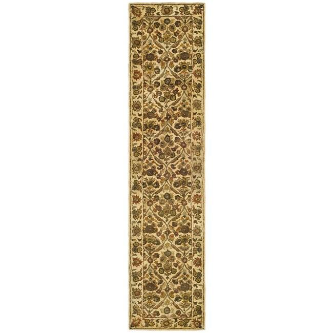 Safavieh Handmade Treasured Gold Wool Runner (2'3 x 10'),...