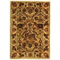 """Safavieh Handmade Treasured Gold Wool Runner Rug - 2'3"""" x 4'"""