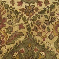"Safavieh Handmade Tabriz Beige/ Olive Wool Rug - 2'3"" x 4'"