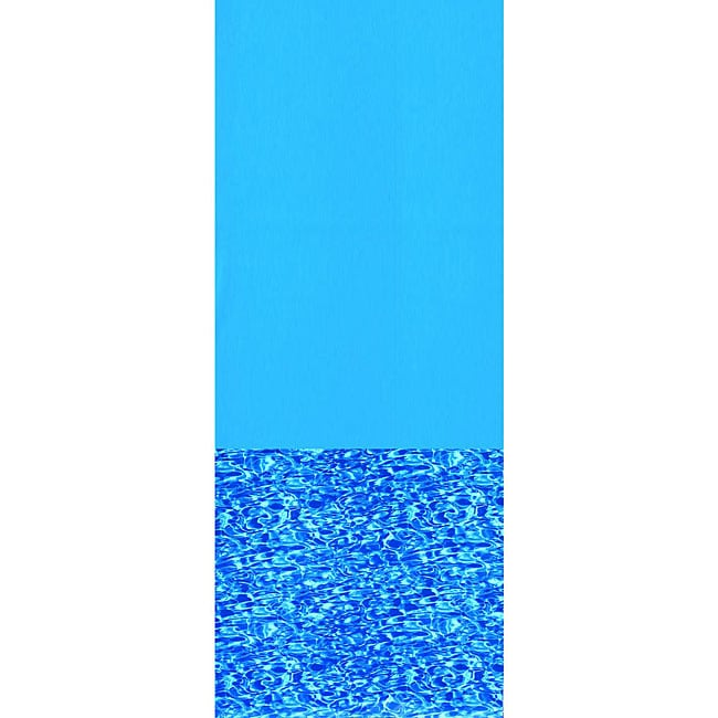 Swimline Swirl Bottom 12-ft Round Overlap Pool Liner 48/52-in Deep
