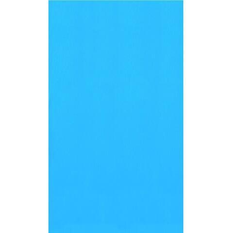 Blue 15-ft Round Standard Gauge Overlap Liner - 48/52-in