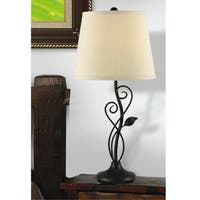 Laurel Creek Princeton Bronze 26-inch Table Lamp