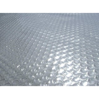 Blue Wave 15 ft. Round 12-mil Solar Blanket for Above Ground Pools - Clear