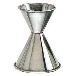 American Metalcraft Stainless Steel Jigger (0.75-1.25 ounce)|https://ak1.ostkcdn.com/images/products/4782858/American-Metalcraft-Stainless-Steel-Jigger-0.75-1.25-ounce-P12682310.jpg?impolicy=medium