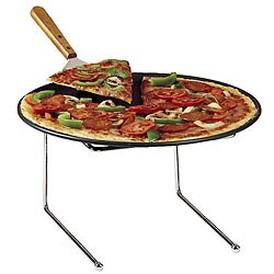 American Metalcraft 12-in Universal Pizza Stand