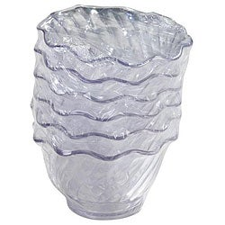 Carlisle Foodservice 6-piece 5-oz Clear Tulip Dish Set (Case of 24)
