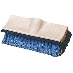Carlisle Foodservice Floor Brush and Squeegee