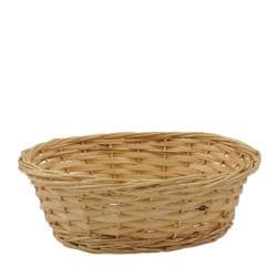 Willow Specialties 9-in Oval Rattan Basket - Thumbnail 1
