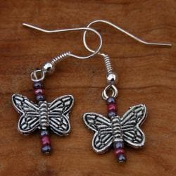 Playful Butterfly Earrings (China) - Thumbnail 1