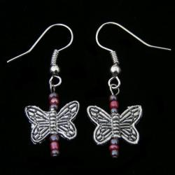 Playful Butterfly Earrings (China) - Thumbnail 2