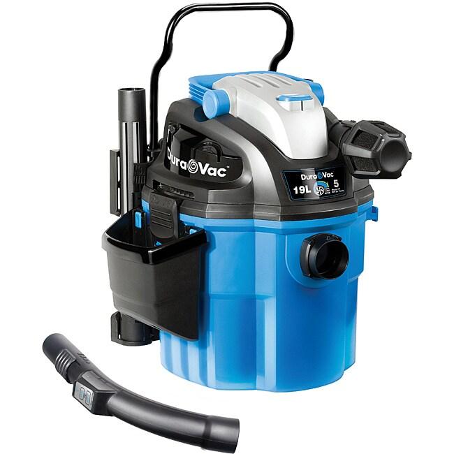 Vacmaster VWM510 5-gallon 5-peak HP Wall-mount Wet/Dry Vacuum
