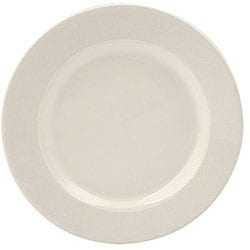 World Tableware 7.125-in Undecorated White Rolled Edge Plates (Case of 36)