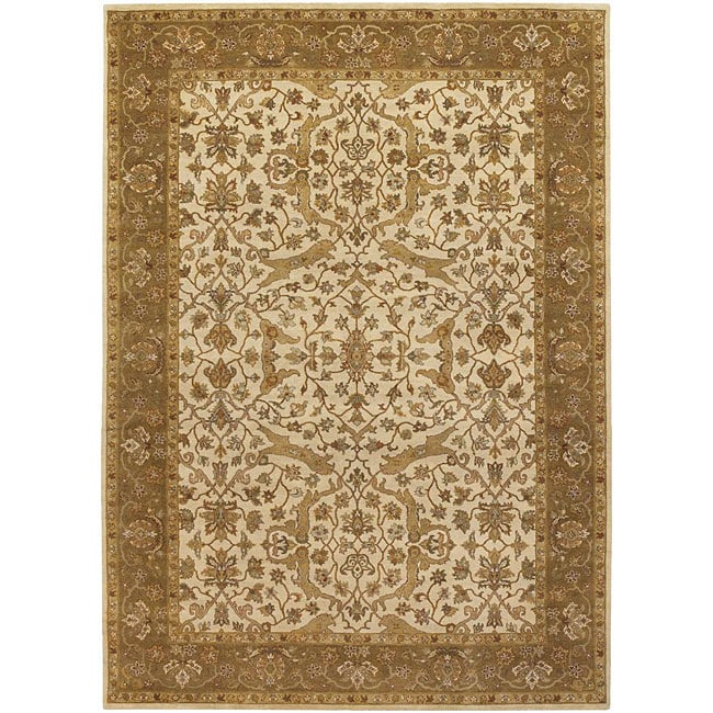 Artist's Loom Hand-knotted Traditional Oriental Wool Rug (9'x13') - 9' x 13'