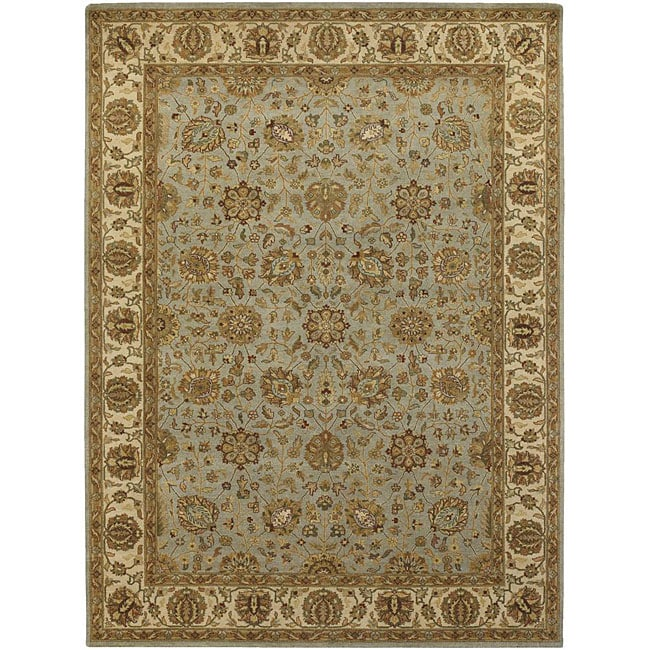 Artist's Loom Hand-knotted Traditional Oriental Wool Rug (7'9x10'6) - 7'9 x 10'6